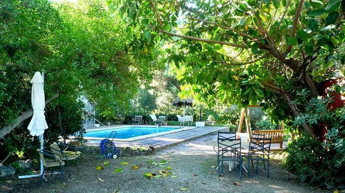 Campolivar villa with sea views for Piscina jardin valencia