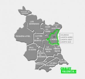 Chalets Zona L'Horta de Valencia