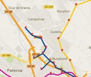 metro urbanizaciones godella