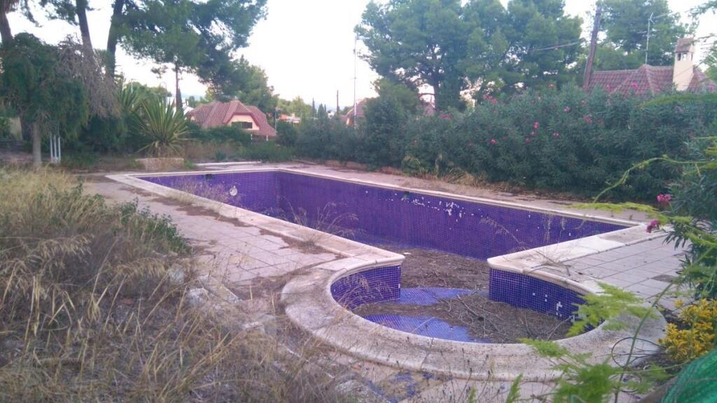 piscina chalet lujo la eliana