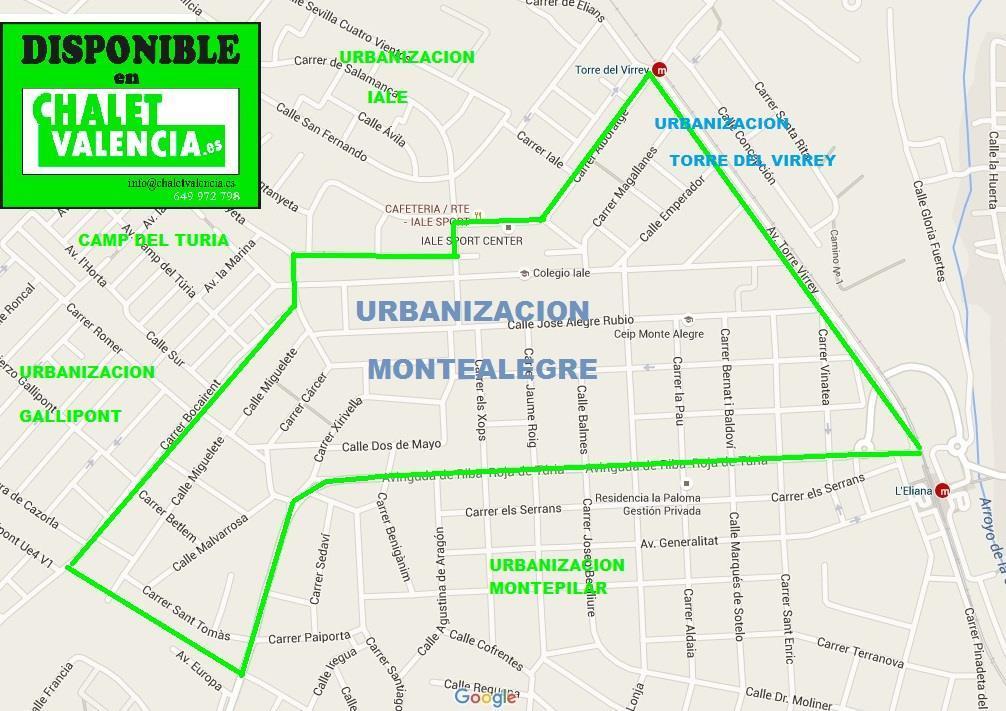 Mapa Urbanizacion MonteAlegre