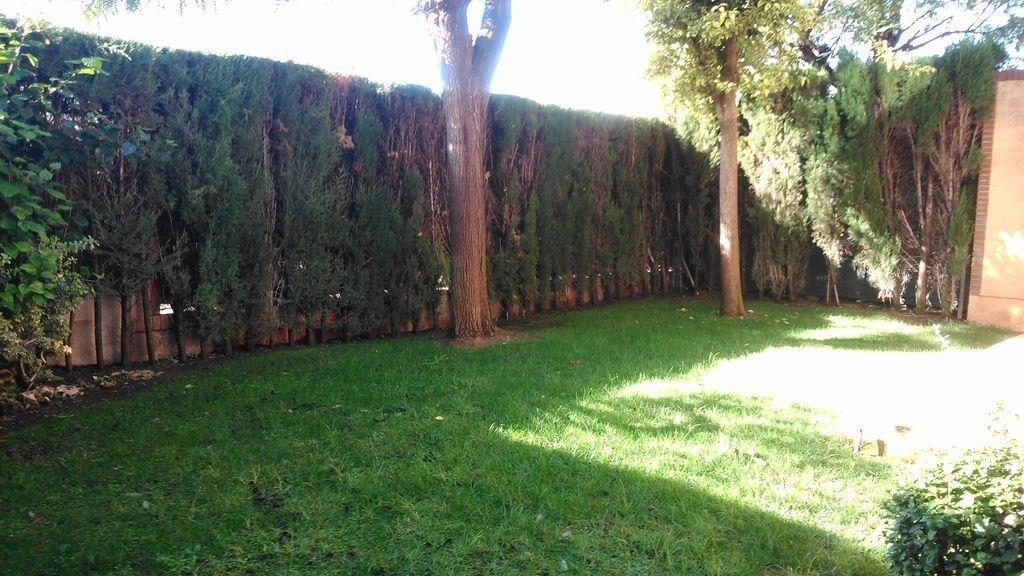 Jardín privado chalet esquinero Mas Camarena