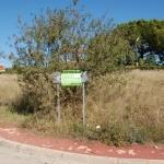 Parcela esquinera urbanización Montesano