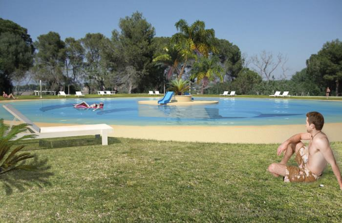 Recreación nuevo diseño piscinas club social