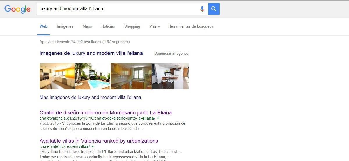 Poscionamiento Web en frases de búsqueda habituales
