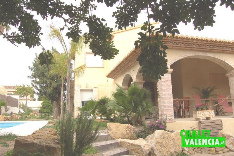 Vista terraza principal Montesano La Eliana Valencia