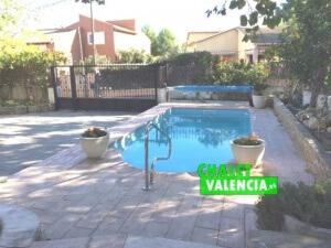 Piscina Entrada Chalet Montesano Valencia