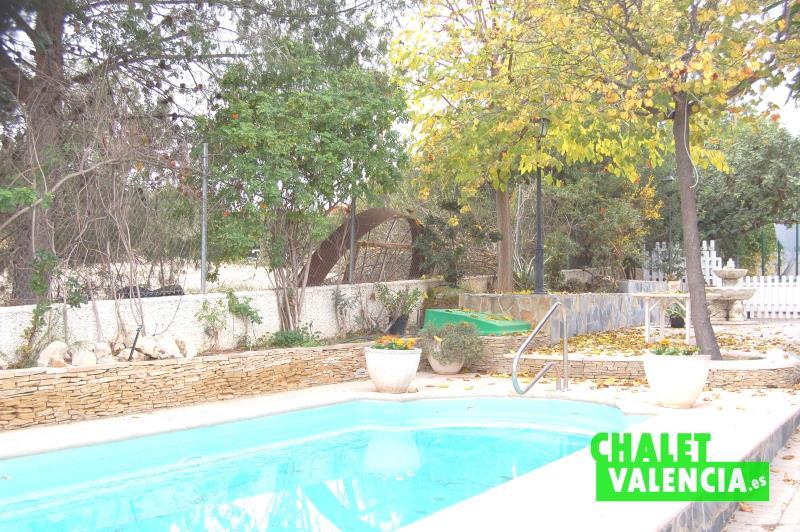 Piscina Jardín Oportunidad Montesano