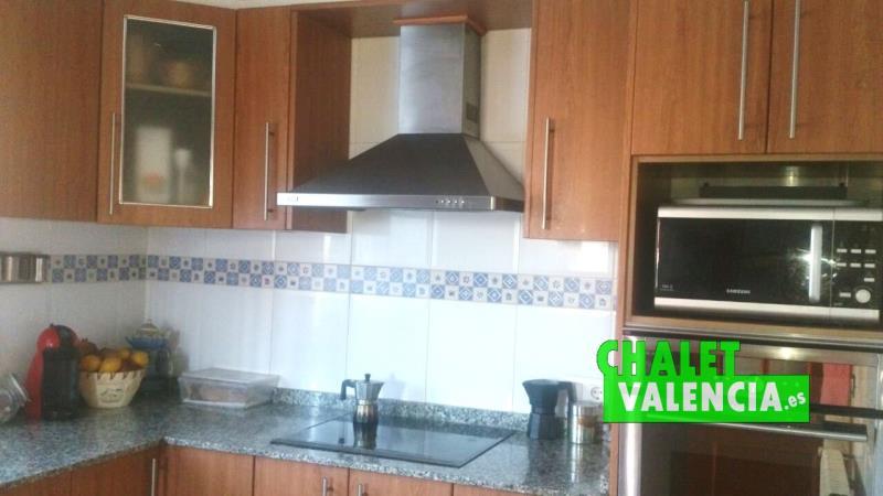 cocina chalet Nova Maravisa Valencia