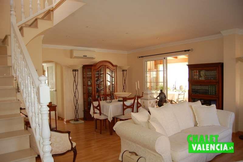 Vista salón comedor desde entrada Maravisa