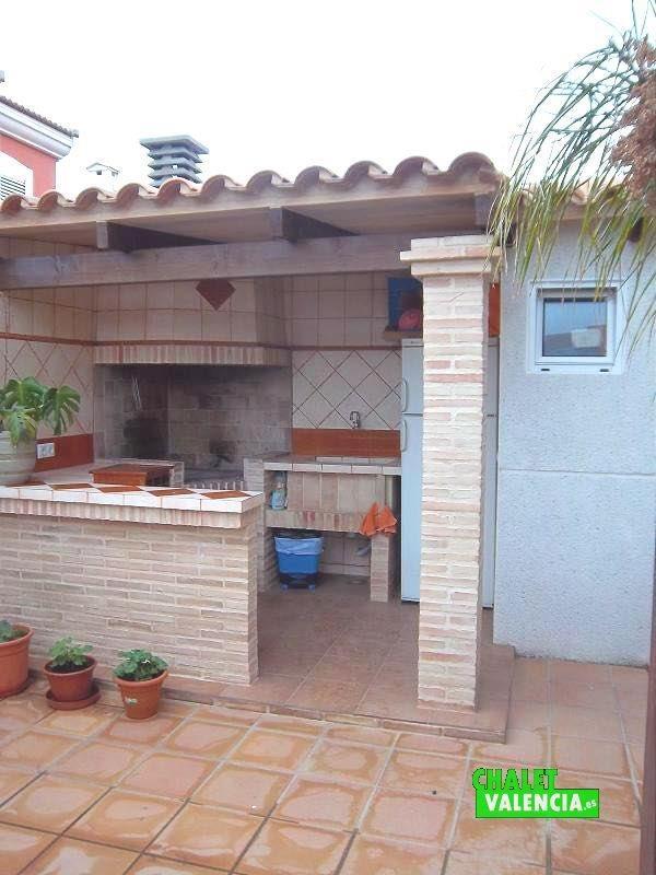 Paellero piscina barra bar Vista Calderona Valencia