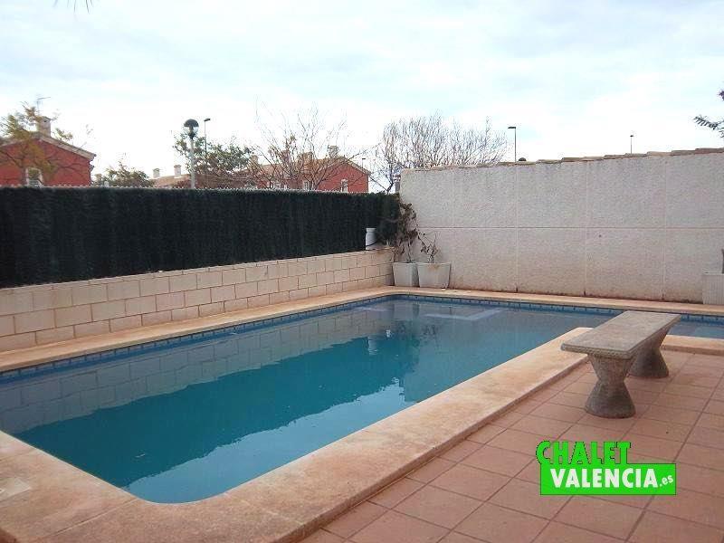 Piscina chalet Vista Calderona Valencia