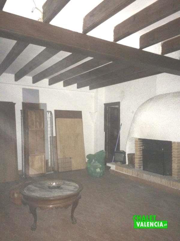 Salón casa de invitados Náquera