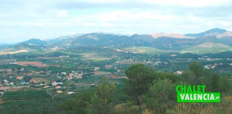 Chalets aislados Sierra Calderona