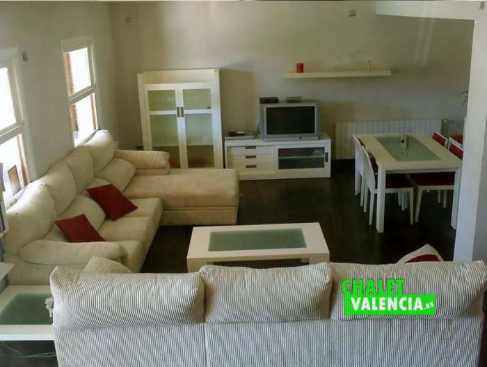 Salón chalet alquiler venta en Montepilar La Eliana