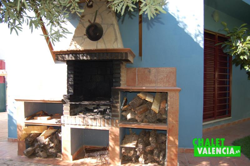 Paellero chalet Els Pous Ribarroja Valencia