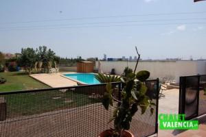 Chalet con vistas a Valencia