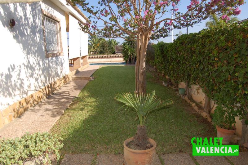 Jardín zona Oeste chalet Maravisa Valencia