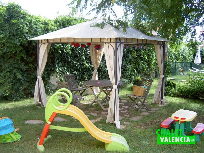 Cenador chalet Penyes Maravisa Valencia