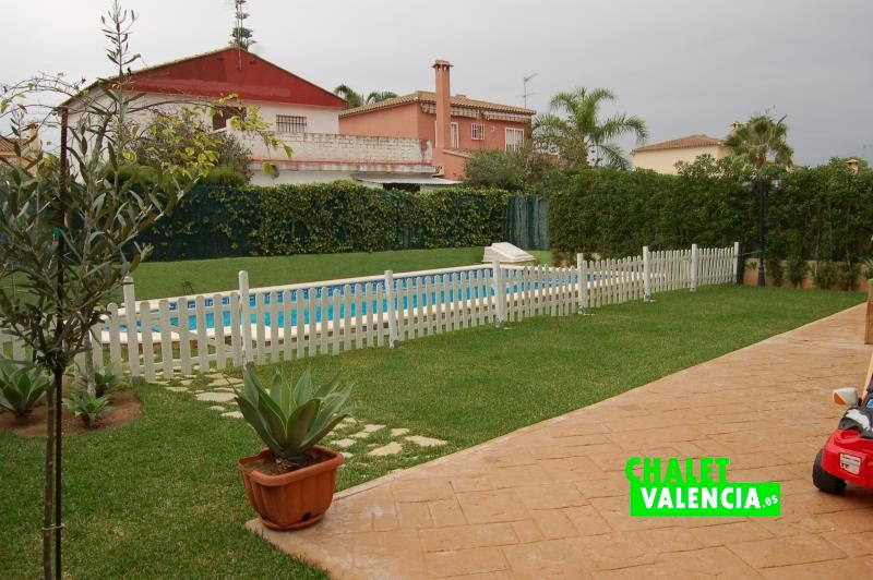 Piscina chalet Gallipont Pobla Vallbona Valencia
