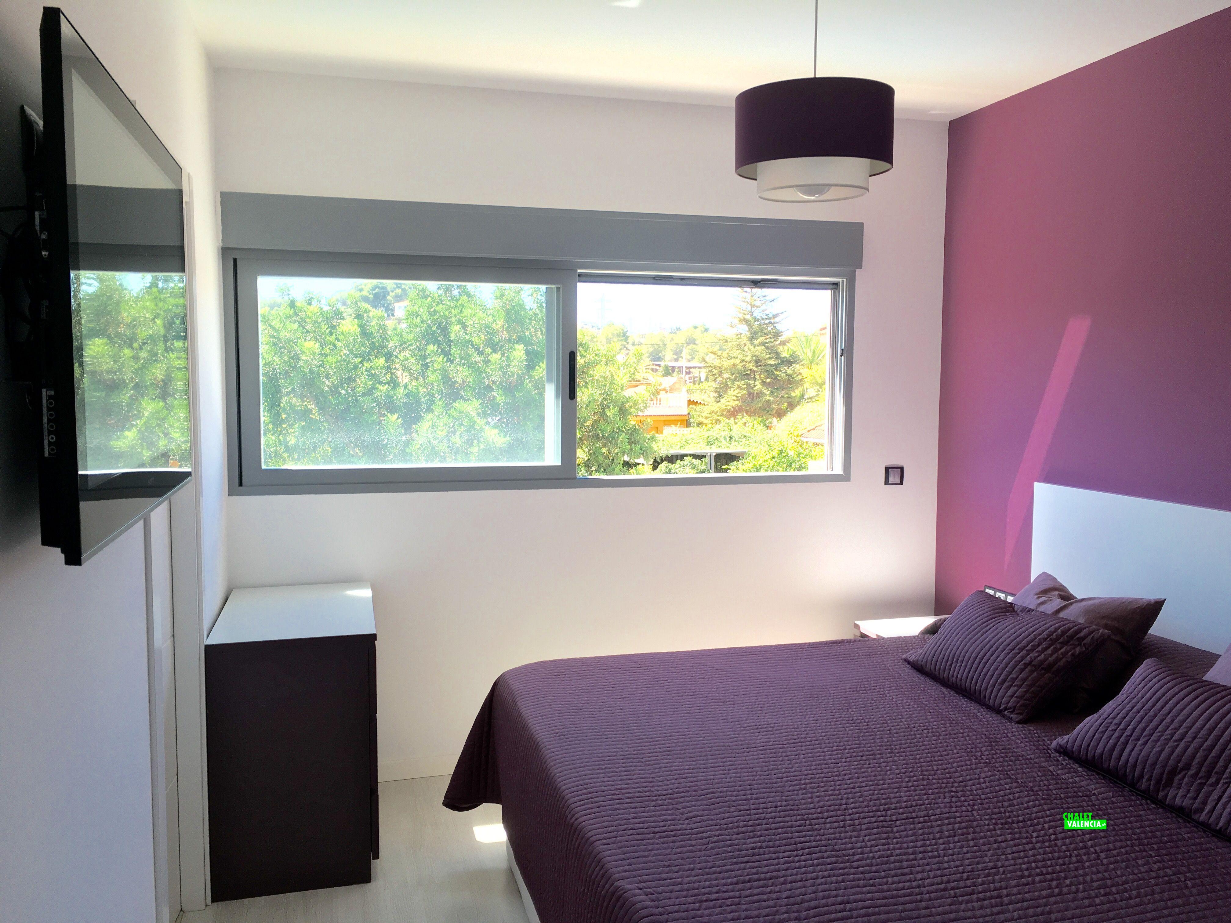 Habitación suite chalet nueva construcción Valencia