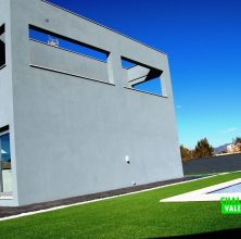 Chalet de obra nueva con diseño moderno en Bétera