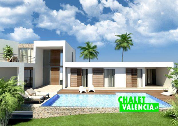Chalet en construcci n en hendaya la eliana chalet valencia - Chalet fotos ...