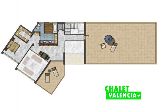 Primera planta suite principal