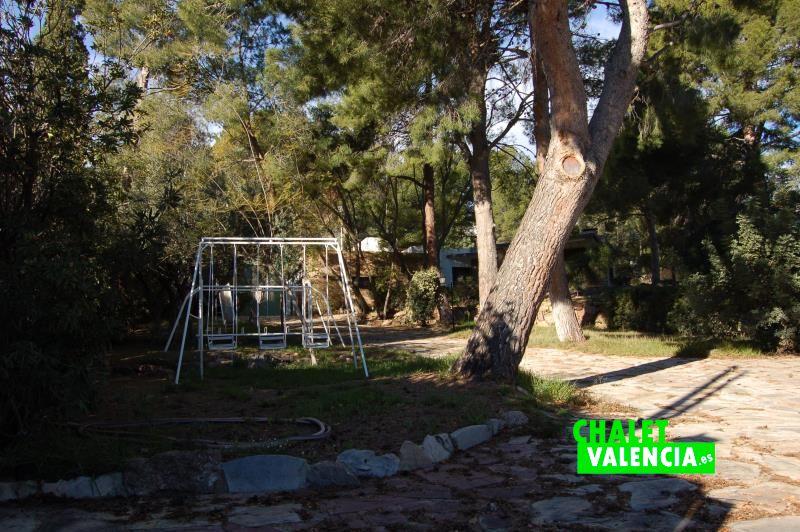 Rincones con encanto en la pinada chalet Naquera