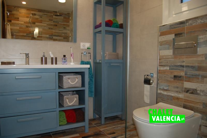 Baño con encanto habitaciones