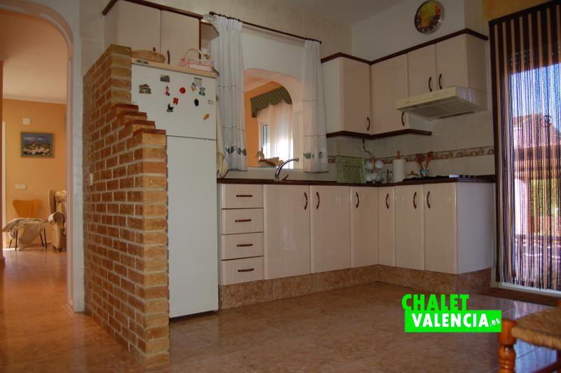 Cocina chalet Torre Portaceli Valencia