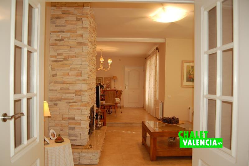 Salón comedor chalet Montealegre L'Eliana