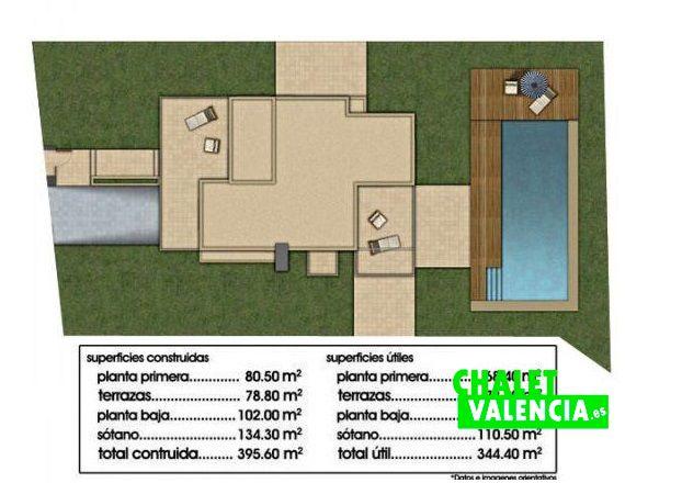 Planos de chalets de lujo planos de casas parking for Planos de chalets de lujo