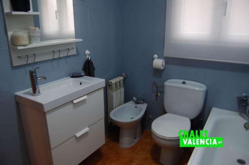 Baño planta baja chalet La Sima Valencia