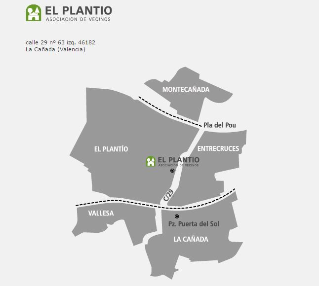 Mapa Plantío Paterna