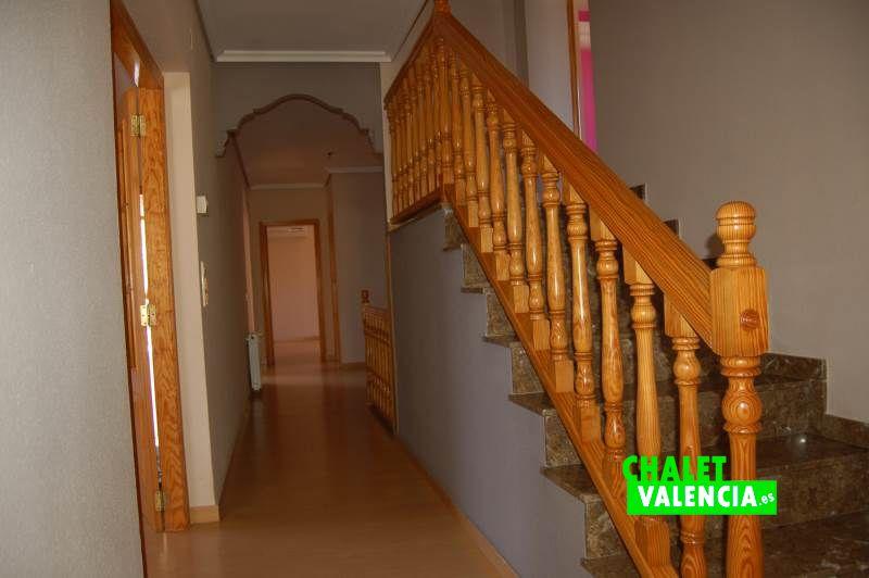 Entrada interior casa desde terraza principal