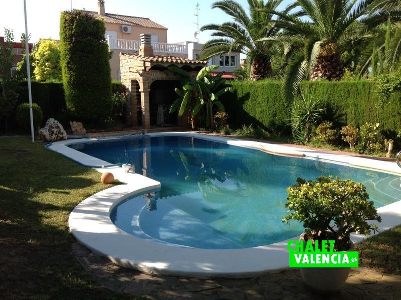 Piscina espectacular chalet Colinas Valencia