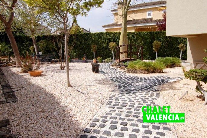 Jardín estilo Zen Valencia
