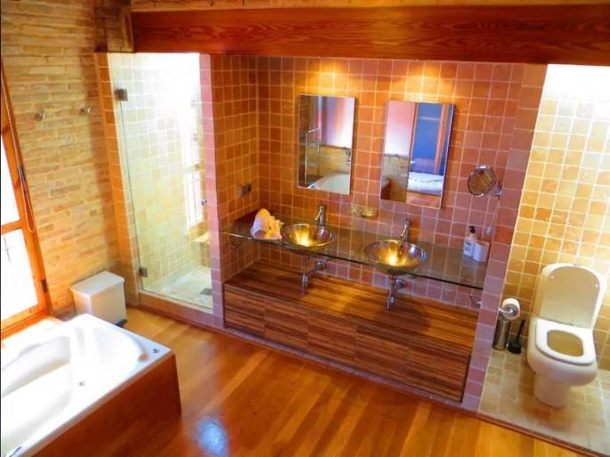 Baño con diseño Chalet Valencia