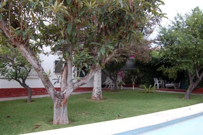 Jardín y piscina oportunidad chalet Entrepinos