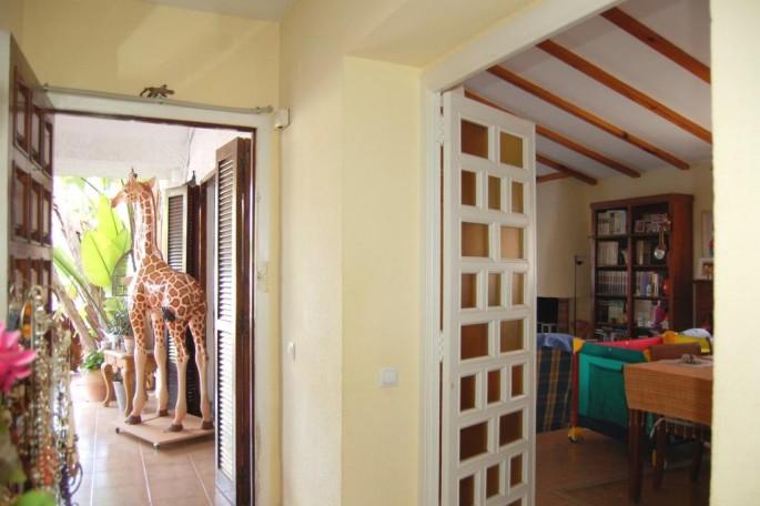 Vista salón desde recibidor