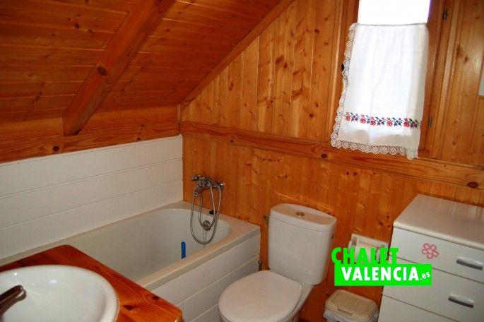 Baño chalet alquiler compartido Valencia