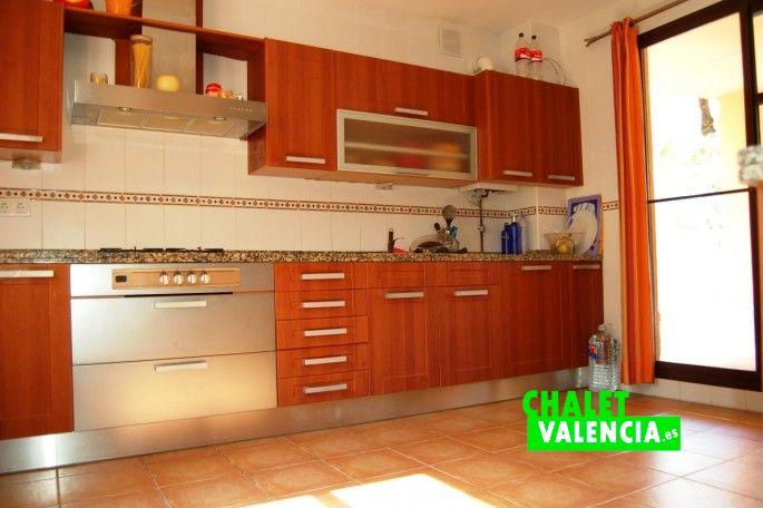 Cocina chalet Masía Traver Valencia