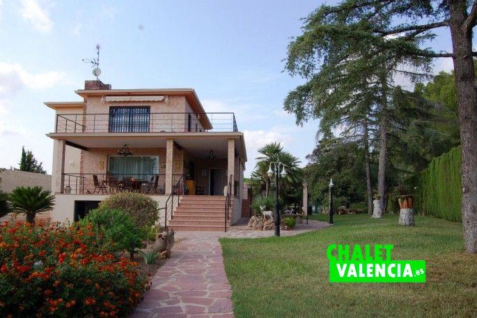 Entrada casa Montecañada