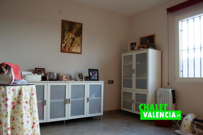 Habitación despacho Chalet Valencia