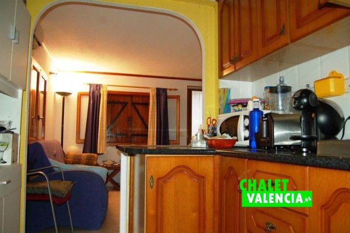 Cocina office chalet Lliria