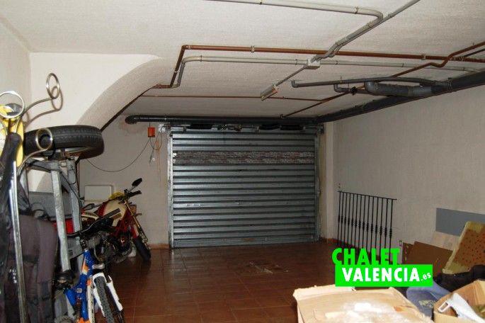 Sótano garaje casa San Antonio Benageber