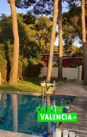 Chalet en alquiler con piscina y pinada La Eliana