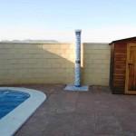 Villa for rent with swimming pool in urbanization north of La Pobla