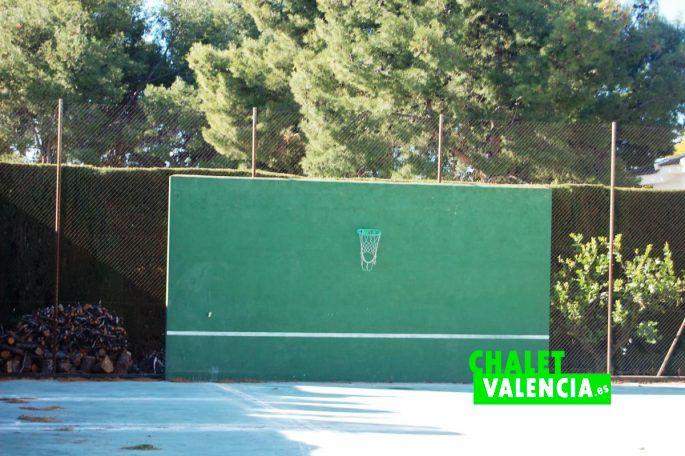 Zona deporte chalet La Pobla Valencia